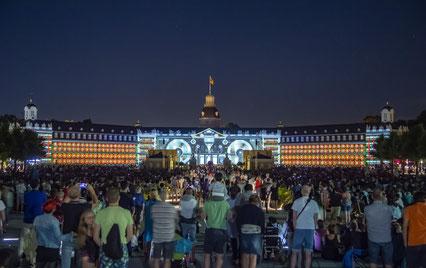 Beliebter Publikumsmagnet: die Karlsruher Schlosslichtspiele. Foto: ARTIS - Uli Deck