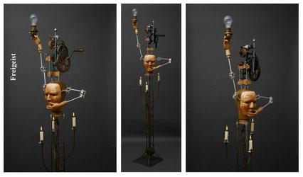 """Rolf Puschnig, """"Freigeist"""", Künstler, Surramentteur, tOG, take OFF GALLERY, Düsseldorf, Galerie"""