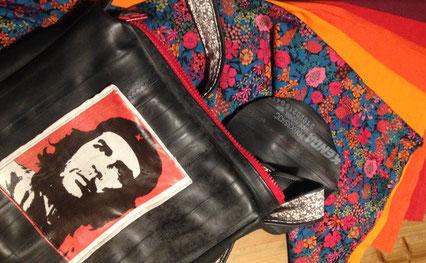 sac Che Guevara en cours de création.