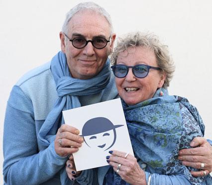 Annette Hardouin et Yves Patissier