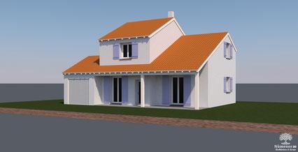 Maison projet archicad
