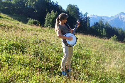 """meine Hobbys: mein Mann & unsere """"Band"""", wandern, Fitness, reisen, Lachen!"""