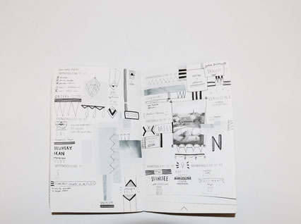 This is my weekly PLANNER scan WEEK 45// 2017.   Trough planning, sketching and living new designs and inspirations arise weekly in my inhouse designed PLANNER which I use as a sketchbook, moodboard and notebook.