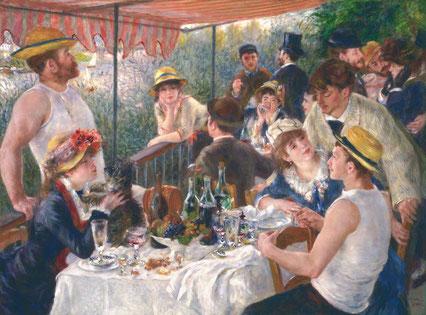 """Pierre-Auguste Renoir, """"La colazione dei canottieri"""""""
