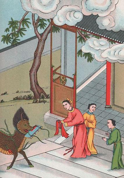 Fig. 3. Henri DORÉ (1859-1931) : Recherches sur les superstitions en Chine. Tome XIII.A. Vie de Confucius illustrée. Variétés sinologiques n° 49, Zi-ka-wei, 1918.