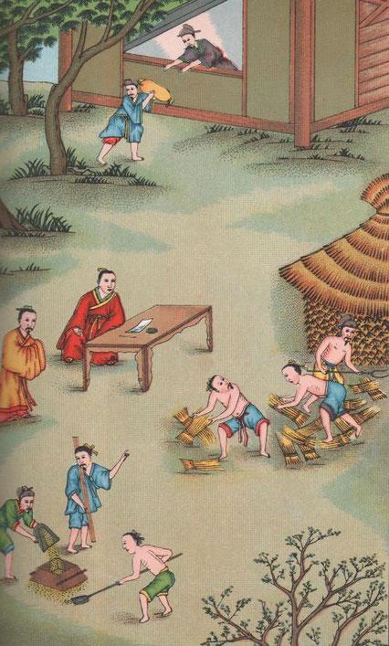 Fig. 7. Henri DORÉ (1859-1931) : Recherches sur les superstitions en Chine. Tome XIII.A. Vie de Confucius illustrée. Variétés sinologiques n° 49, Zi-ka-wei, 1918.