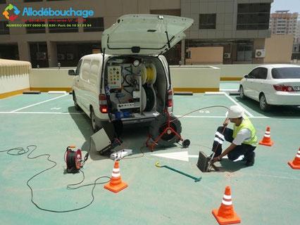 Debouchage canalisation immeuble Antibes
