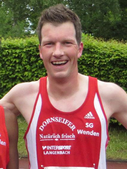 Sven Daub Gesamtsieger in Siegen