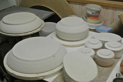 Schalen Teller Teeschalen Ikebana