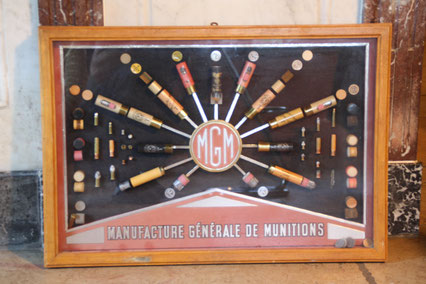 panneau publicitaire manufacture générale de munition