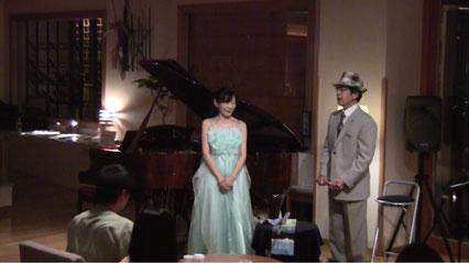 Miyukiさん、今夜の衣装は「ORION」さんから♪