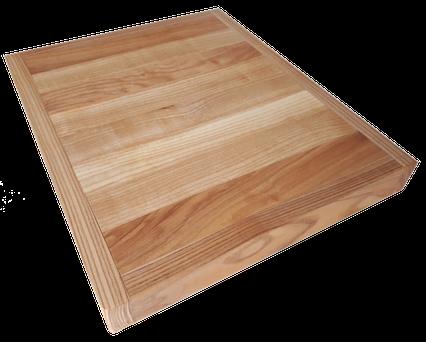 planche à découper en bois de Frêne de l'arrondissement de Villeray-Saint-Michel-Parc Extension