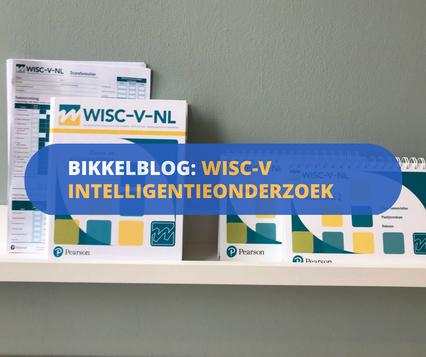 het onderzoeksmateriaal van de WISC-V voor intelligentieonderzoek bij kinderen