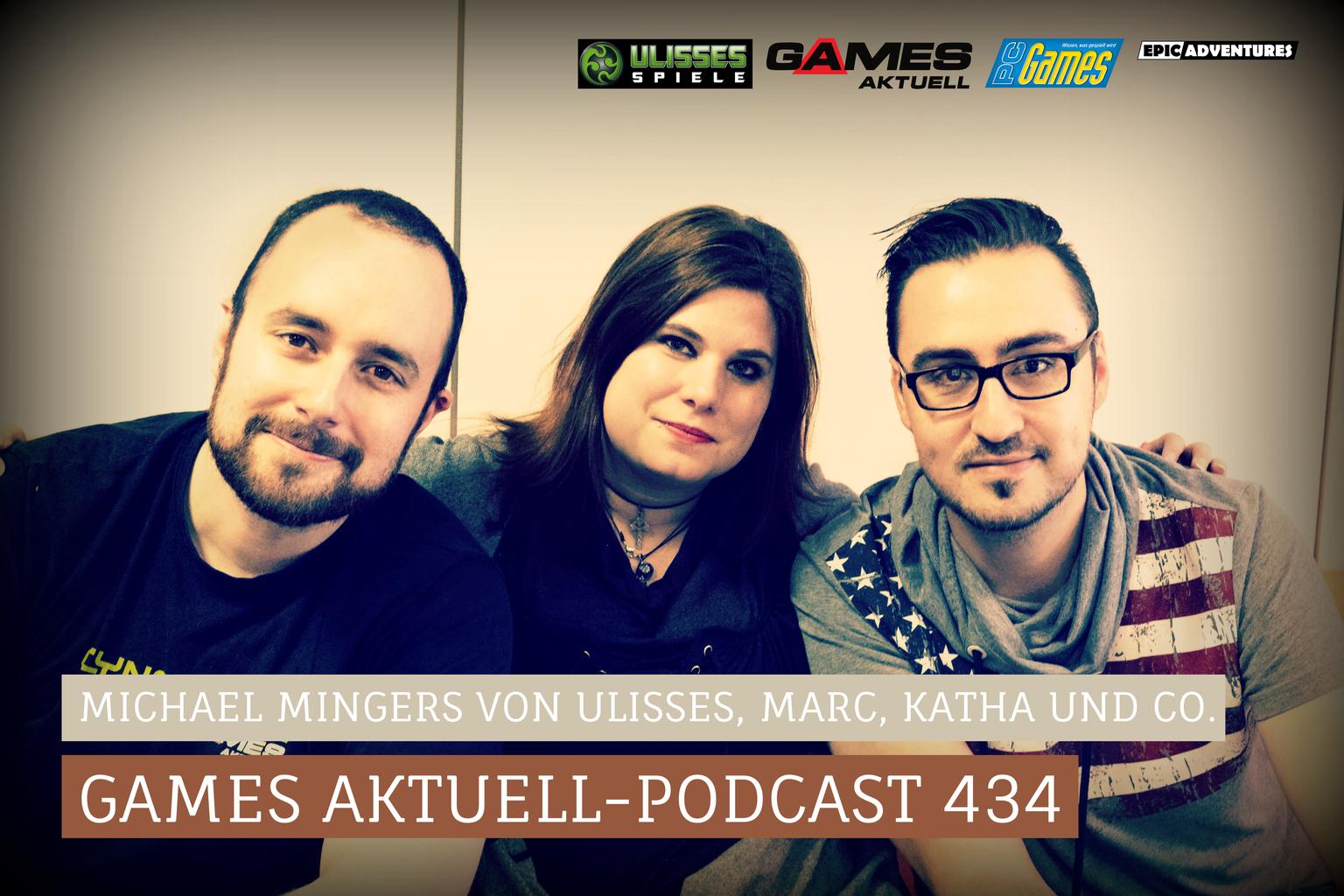 Games Aktuell Michael Mingers, Marc Hatke, Computec, Ulisses Spiele