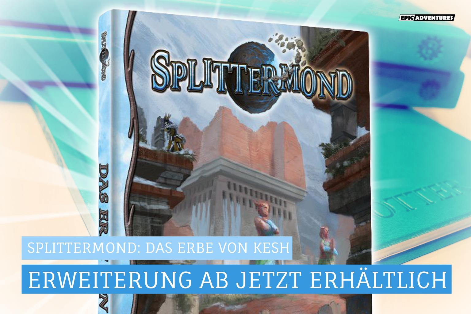 Splittermond: Das Erbe von Kesh Release
