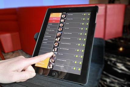Sakura Yakiniku, Sushi-Restaurant mit iPad-Bestellung