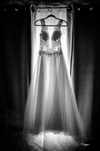 photographe mariage montpellier robe de mariée
