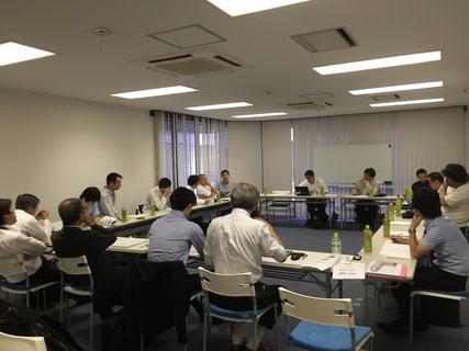 第一回委員会の様子@虎ノ門