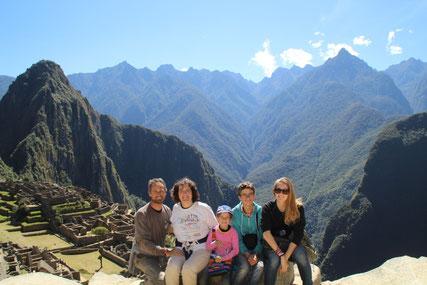 à l'assaut du Machu Picchu !