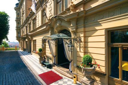 Le Palais Hotel in Praga