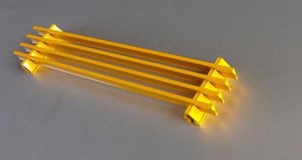 Feines Lüftungsgitter, Einbautiefe 20 mm