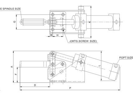 Zeichnung CH-12130-A und 12132-A