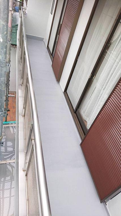 千葉市緑区誉田町の ベランダ防水 アフター2