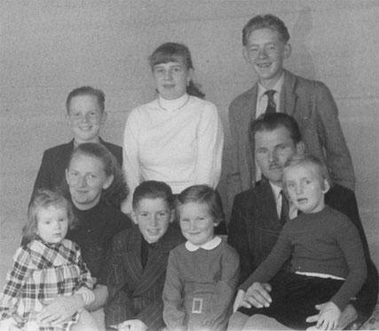 Familienfoto 1957