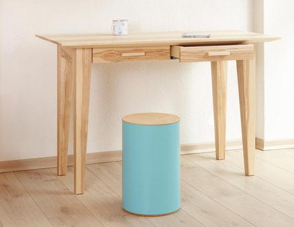 Schreibtisch pollux mit Schubkästen