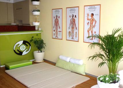 Shiatsu Praxis Carina Markes - Behandlungsraum