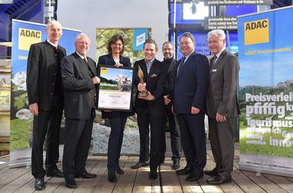 Preisverleihung ADAC Tourismuspreis Nachhaltigkeit