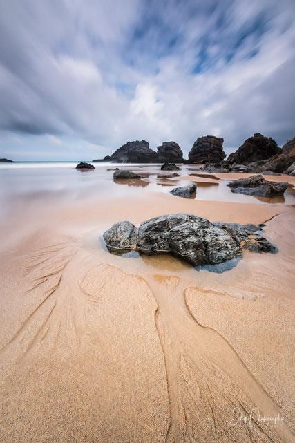 Portugal / Praia da Adraga, Sintra, Langzeitbelichtung, 2016, © Silly Photography
