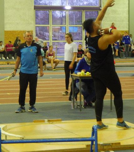 Steffen Klein bei einem seiner gelungenen Wettkampfversuche.