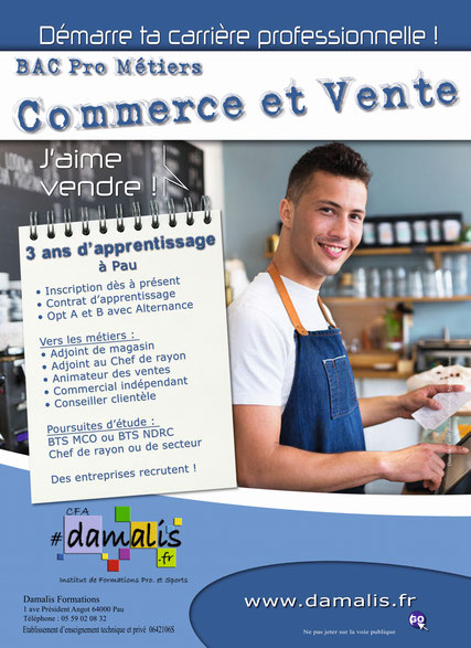 apprentissage à Pau