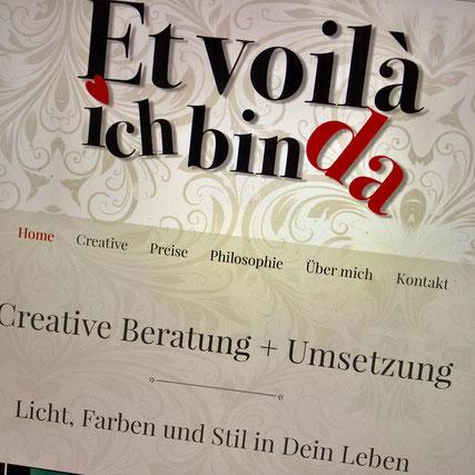 Druckatelier46 Mülchi - Linkfoto Neue Webseite Et voilà - ich bin da