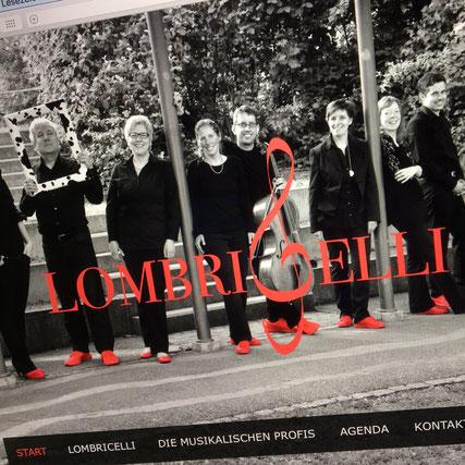 Druckatelier46 Mülchi - Foto Logo- und Webauftritt für das Vokalensemble Lombricelli