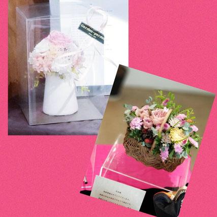◆東京にお住いの大好きな友人からお花が届きました♡◆グラ・サナの大ファンでいて下さる方がお持ちくださいました(^^)/