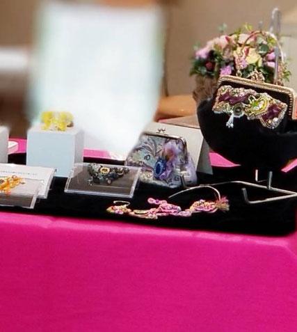 ◆毎年人気の、刺繍コーナー◆今年からの新しいご提案のBAGもとても人気を頂きました(^^)/