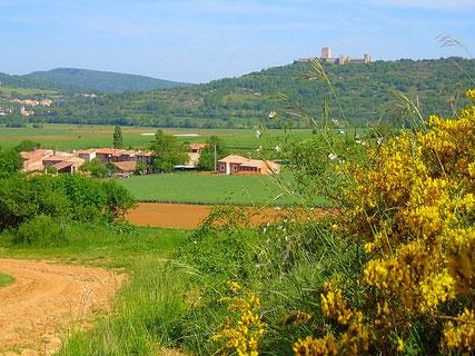 Chemin de la Dame Blanche - Puivert Randonnee pyrenees audoises