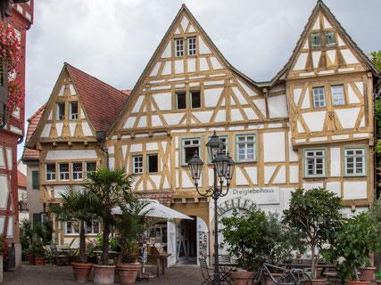 Dreigiebelhaus in Besigheim