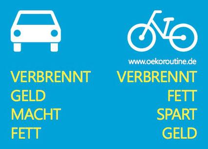 Diese Grafik gibt es als Aufkleber. Kostenlose Bestellung mit gewünschter Mengenangabe gerne an: kopatz@oekoroutine.de