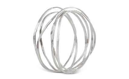 Flexibles Armband in Silber by Stella InJewels