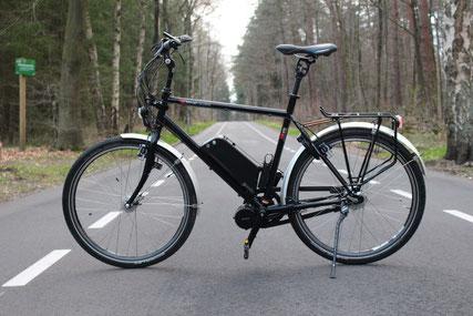 VSF-T400 fiets met ombouwset van FONebike Fiets Ombouwcentrum Nederland