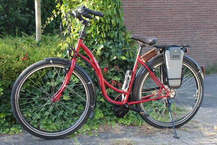 Utopia Velo met ombouwset van FONebike Fiets Ombouwcentrum Nederland