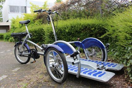 van Raam VeloPlus2 fiets met Bafang BBS ombouwset van FONebike Fiets Ombouwcentrum Nederland