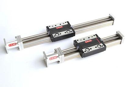 rails ball screw system