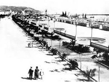 San Benedetto del Tronto - lungomare anni '50 -