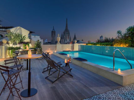 H10 Madison 4* Sup - лучшие отели 4 звезды в Готическом квартале Барселоны