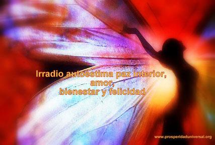 YO SOY CREADOR DE ABUNDANCIA Irradio autoestima paz interior, amor, bienestar y felicidad - PROSPERIDAD UNIVERSAL
