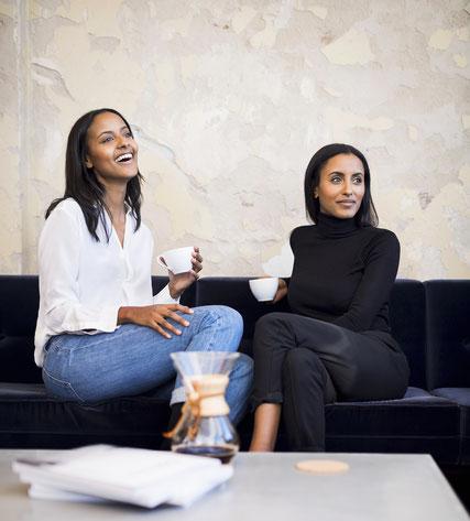 nuruCoffee Gründerinnen: Sara Nuru & Sali Nuru